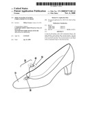SHOE SNAP FOR ATTACHING EMBELLISHMENTS TO SHOES diagram and image