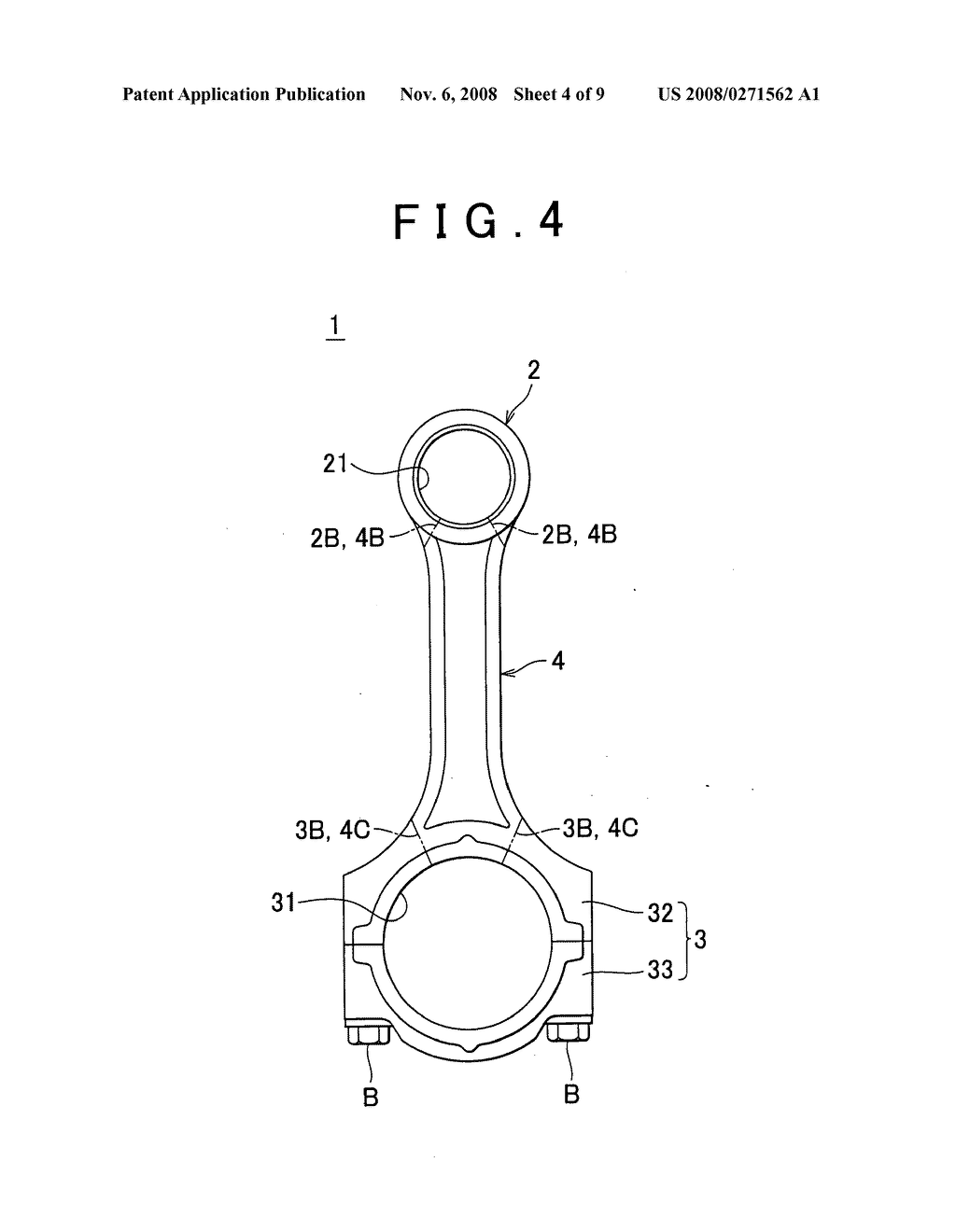connecting rod for internal combustion engine and method of rh patentsencyclopedia com pushrod engine diagram hot rod engine diagram