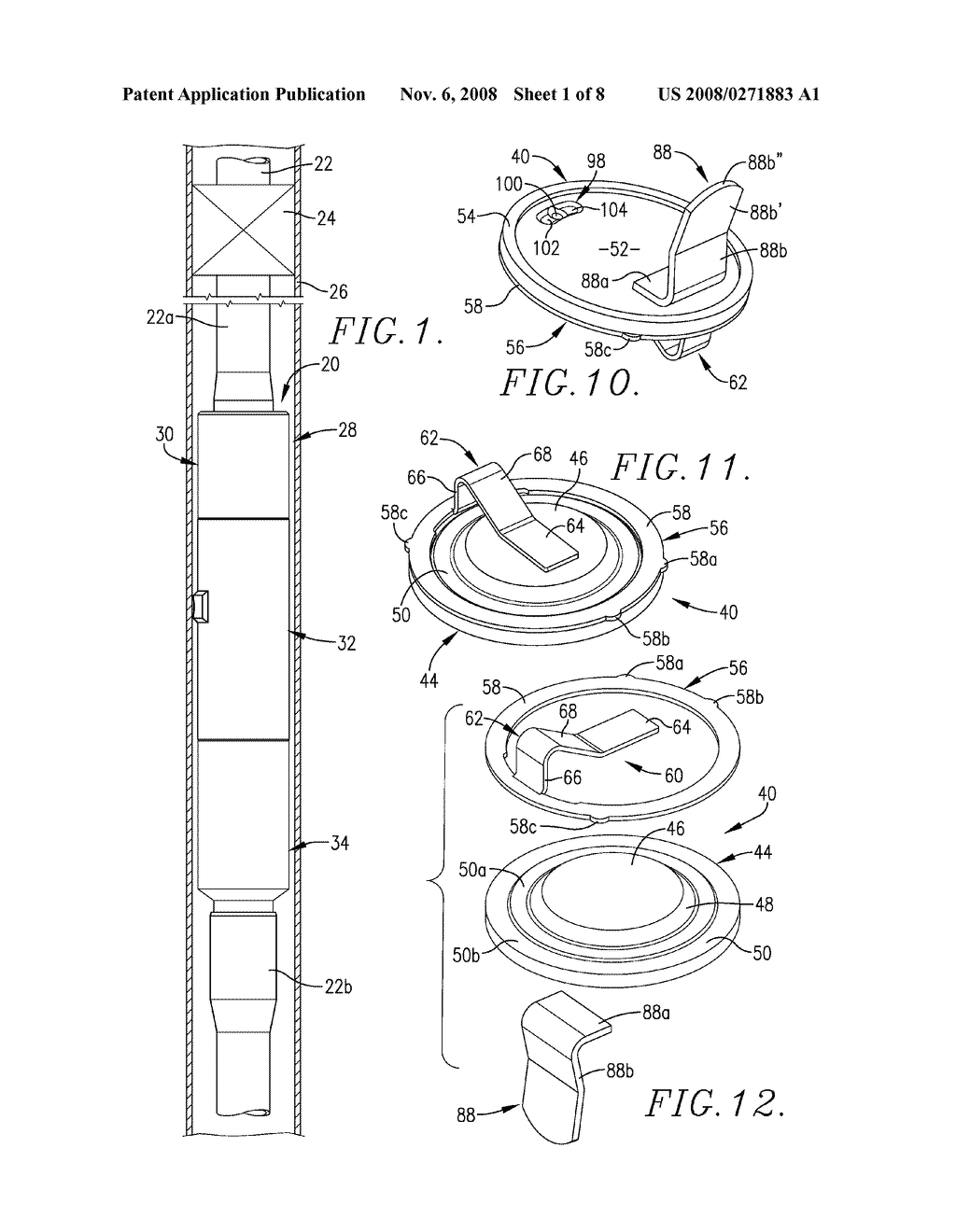 OIL WELL COMPLETION TOOL HAVING SEVERABLE TUBING STRING