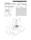 Solar powered mailbox light with movable magnetic connection diagram and image