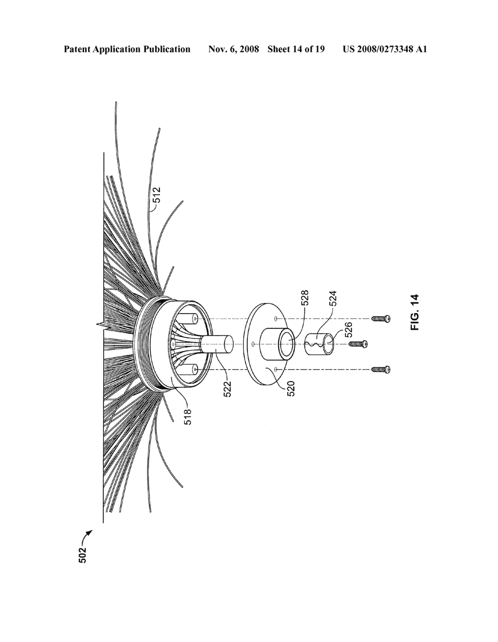 Artificial Illuminated Plant Display - diagram, schematic, and image 15