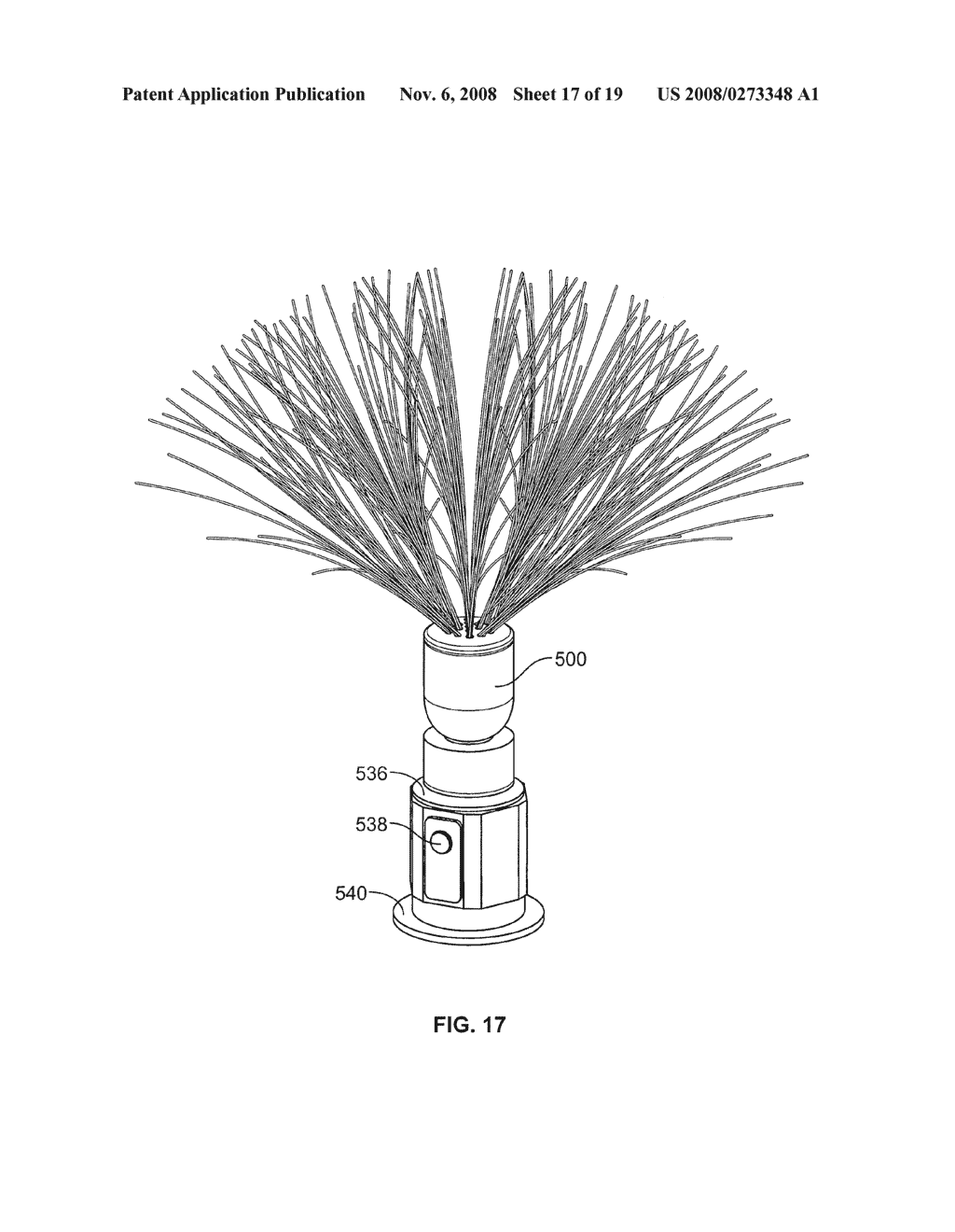 Artificial Illuminated Plant Display - diagram, schematic, and image 18