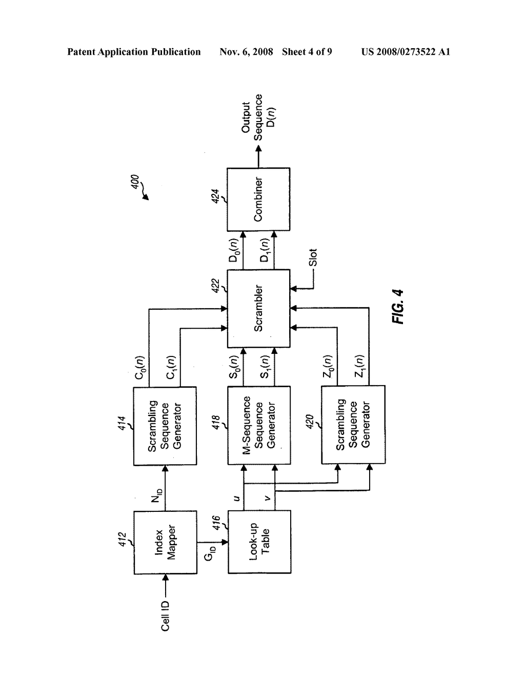 GENERATION AND DETECTION OF SYNCHRONIZATION SIGNAL IN A WIRELESS COMMUNICATION SYSTEM - diagram, schematic, and image 05