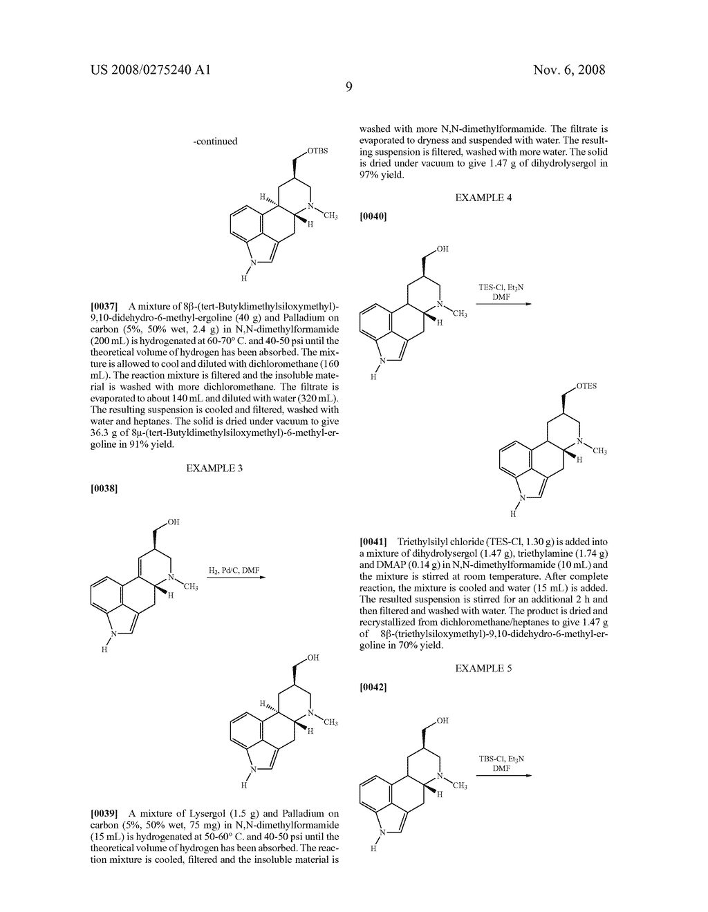 New and efficient process for the preperation of cabergoline and its intermediates - diagram, schematic, and image 10