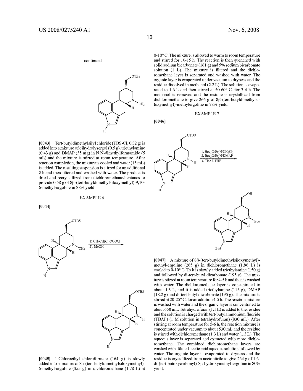 New and efficient process for the preperation of cabergoline and its intermediates - diagram, schematic, and image 11