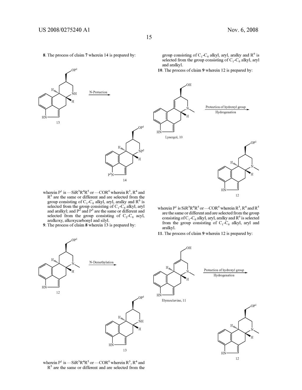 New and efficient process for the preperation of cabergoline and its intermediates - diagram, schematic, and image 16