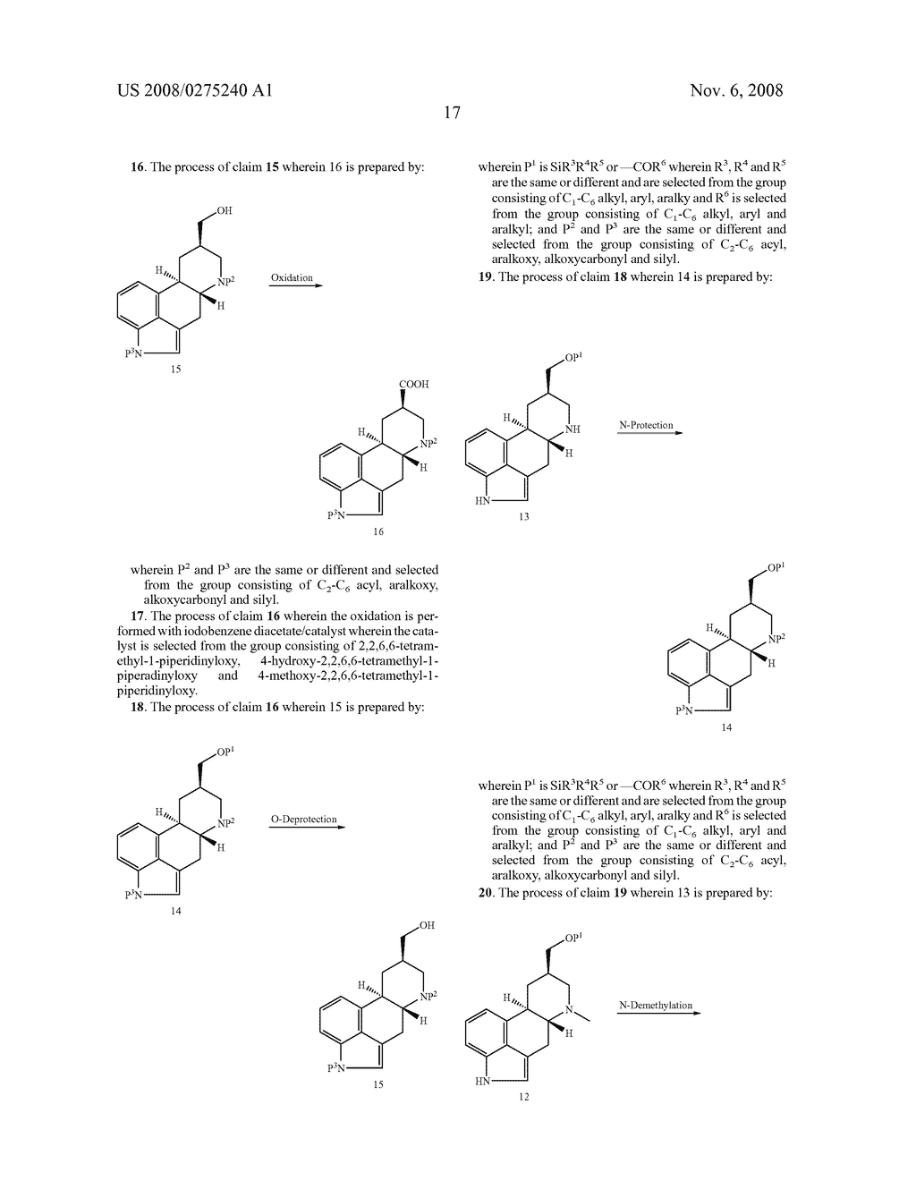 New and efficient process for the preperation of cabergoline and its intermediates - diagram, schematic, and image 18