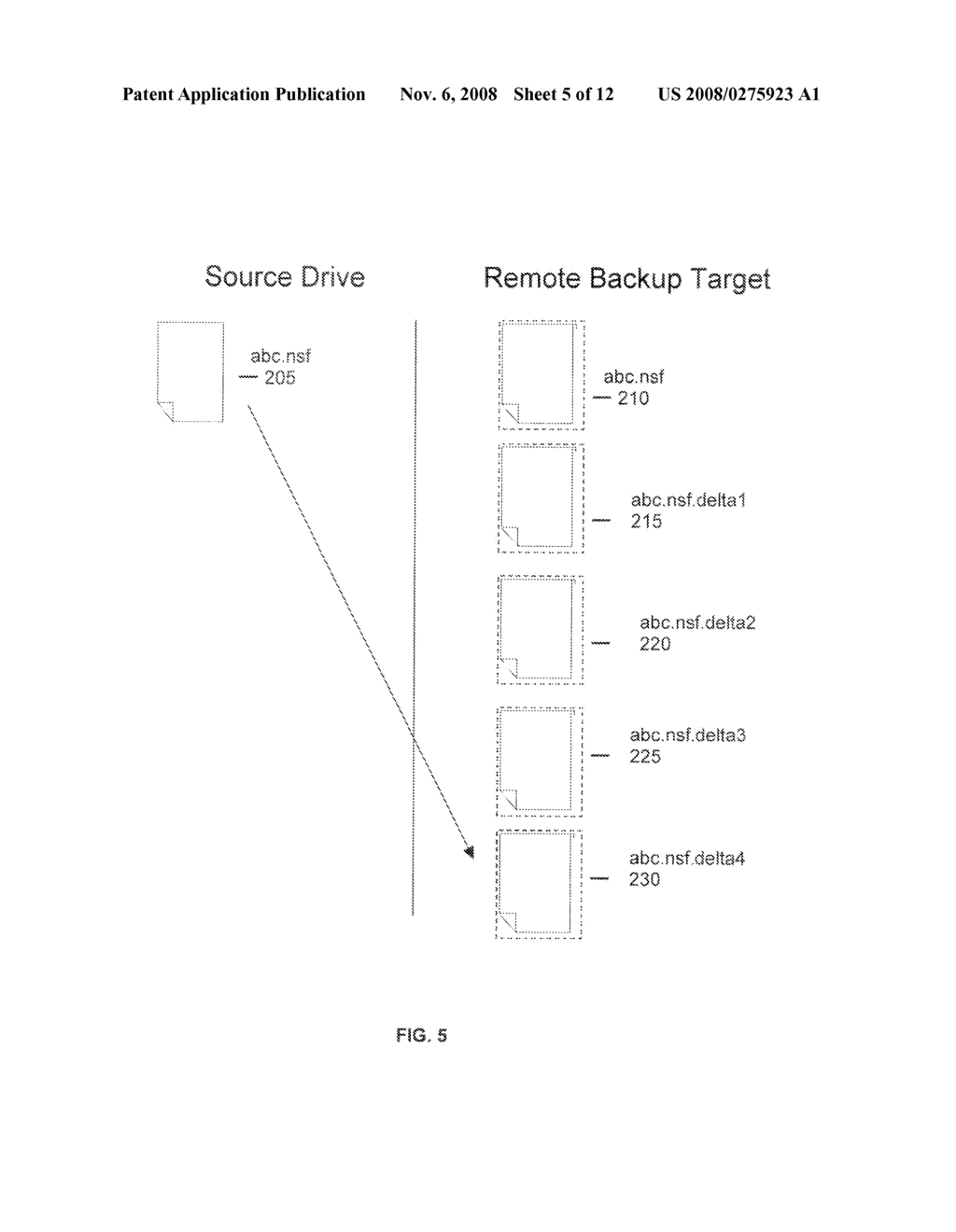 METHOD FOR THE EXPUNGEMENT OF BACKUP VERSIONS OF FILES ON SERVER TARGETS THAT ARE CONFIGURED TO BE UPDATED SEQUENTIALLY - diagram, schematic, and image 06