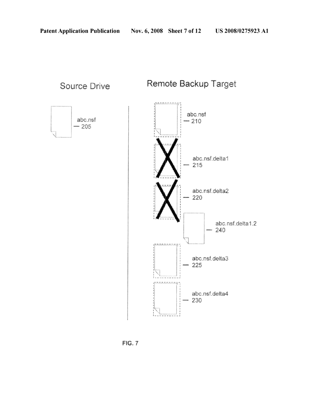 METHOD FOR THE EXPUNGEMENT OF BACKUP VERSIONS OF FILES ON SERVER TARGETS THAT ARE CONFIGURED TO BE UPDATED SEQUENTIALLY - diagram, schematic, and image 08
