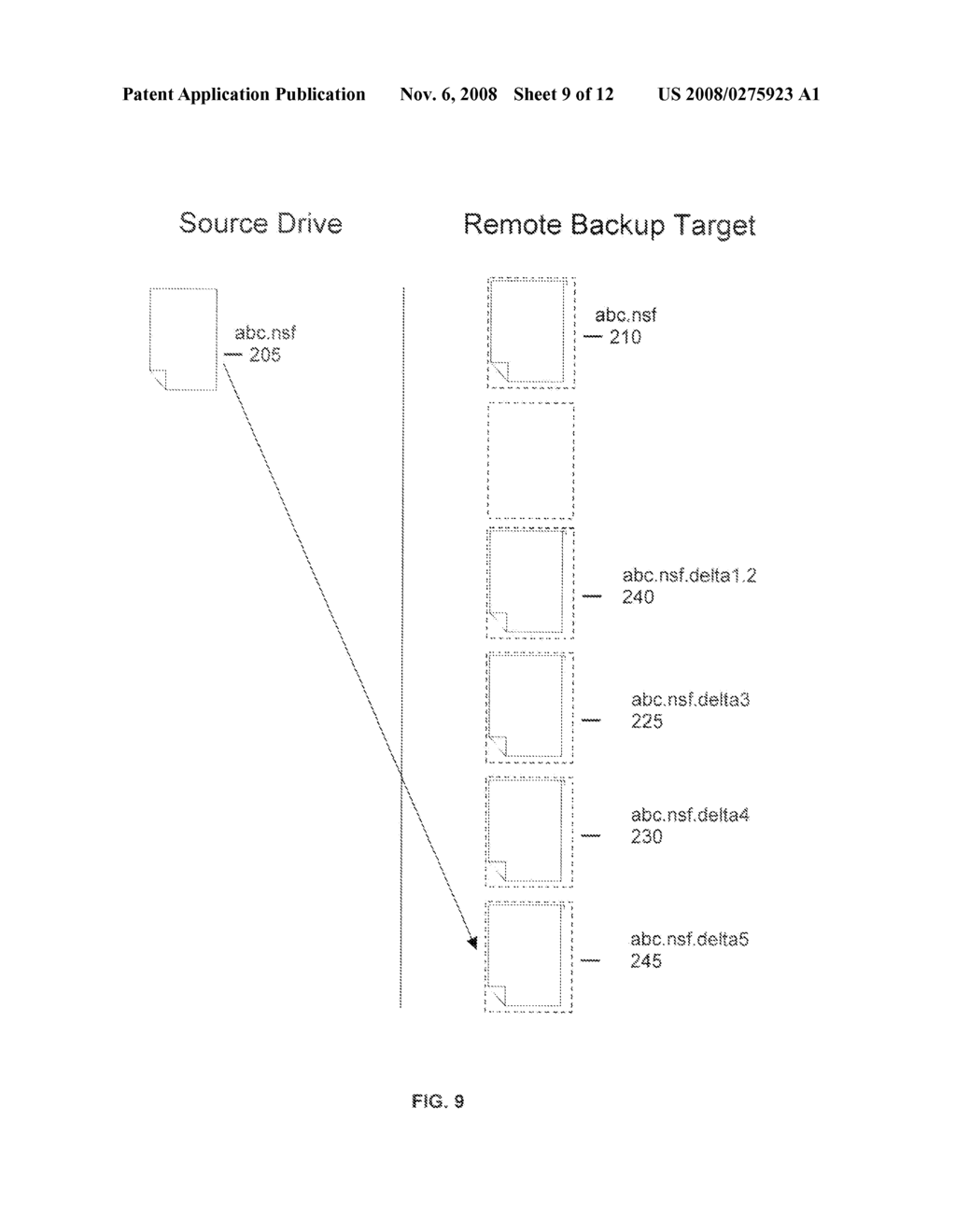 METHOD FOR THE EXPUNGEMENT OF BACKUP VERSIONS OF FILES ON SERVER TARGETS THAT ARE CONFIGURED TO BE UPDATED SEQUENTIALLY - diagram, schematic, and image 10