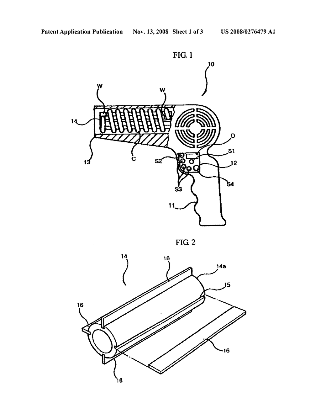 Hair Dryer - diagram, schematic, and image 02 on