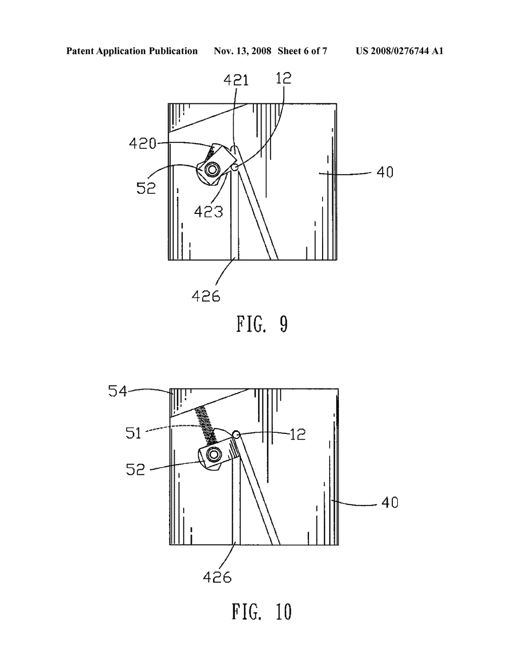 SIDE CORE-PULLING MECHANISM OF MOLD - diagram, schematic, and image 07