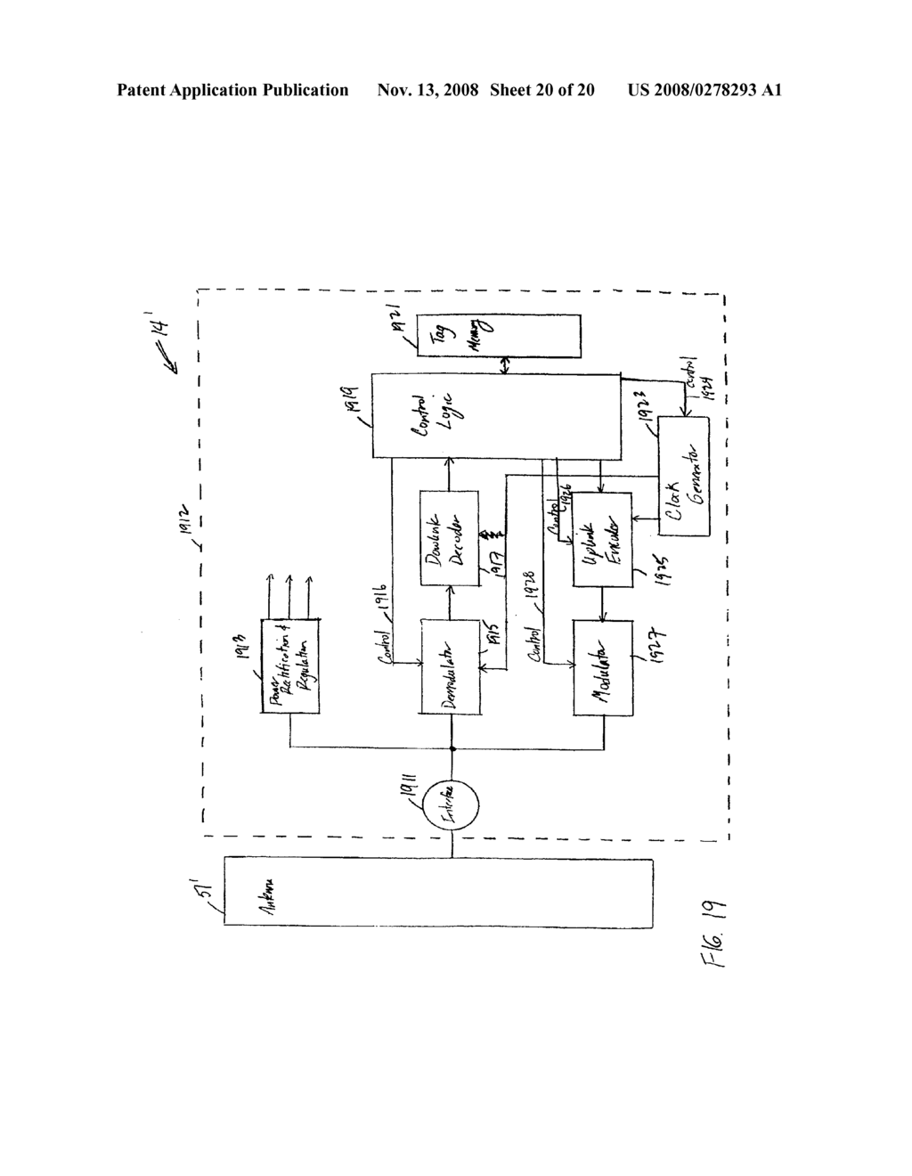 Rfid Schematic Symbol Diagrams Circuit Diagram Tag Interrogator And System With Improved Encoding Remote Control
