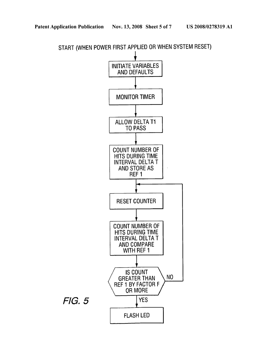 Method and apparatus for detection of structure failure - diagram, schematic, and image 06