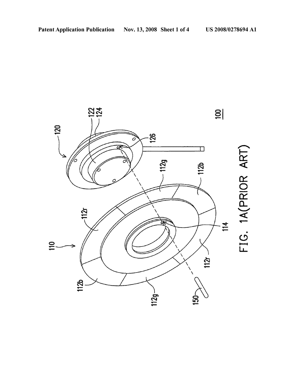 COLOR WHEEL MODULE AND PROJECTION APPARATUS USING THE SAME - diagram, schematic, and image 02