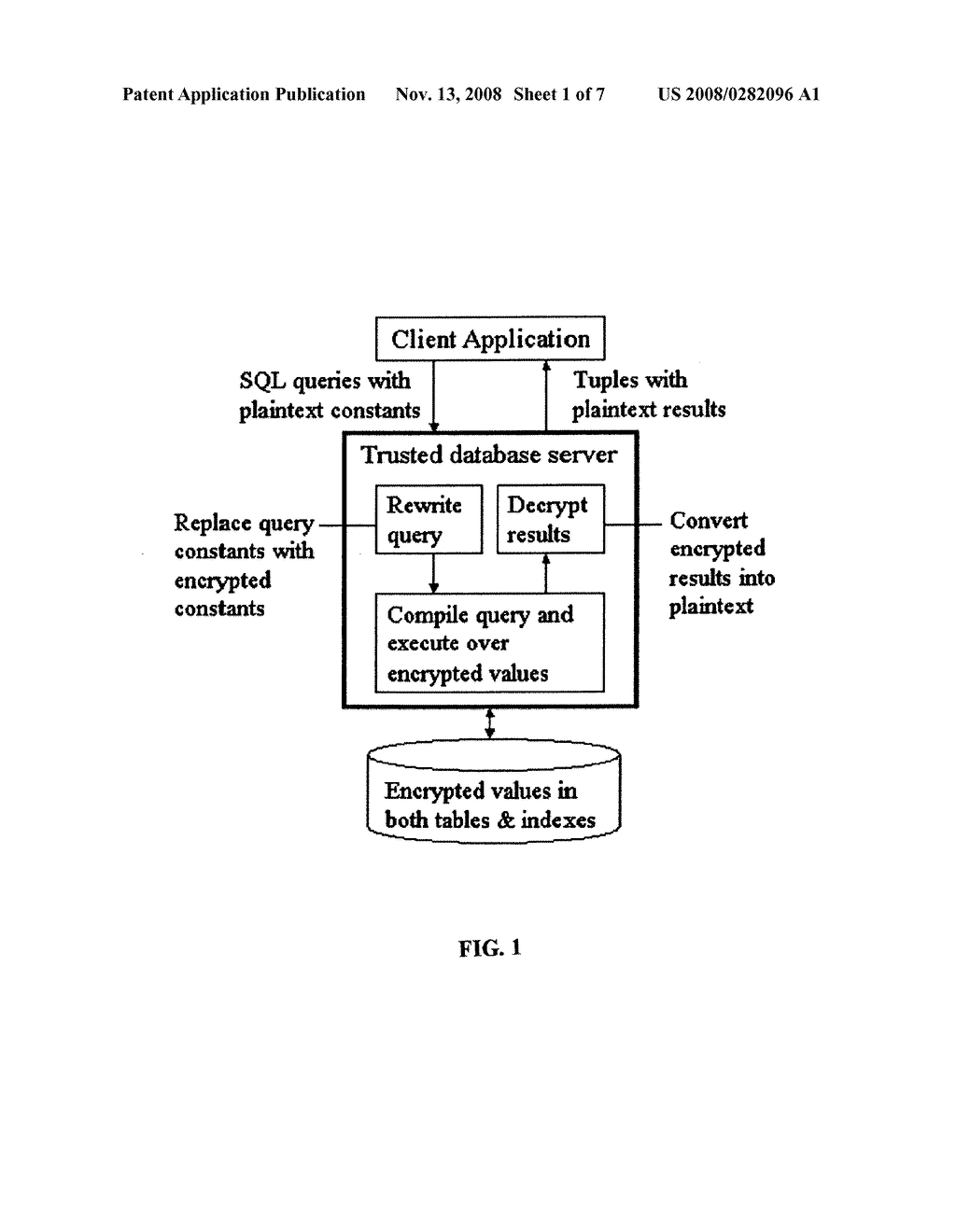 SYSTEM AND METHOD FOR ORDER-PRESERVING ENCRYPTION FOR NUMERIC DATA - diagram, schematic, and image 02