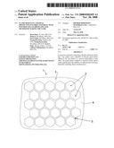 FLAME RESISTANT AND HEAT PROTECTIVE FLEXIBLE MATERIAL WITH INTUMESCING GUARD PLATES AND METHOD OF MAKING THE SAME diagram and image