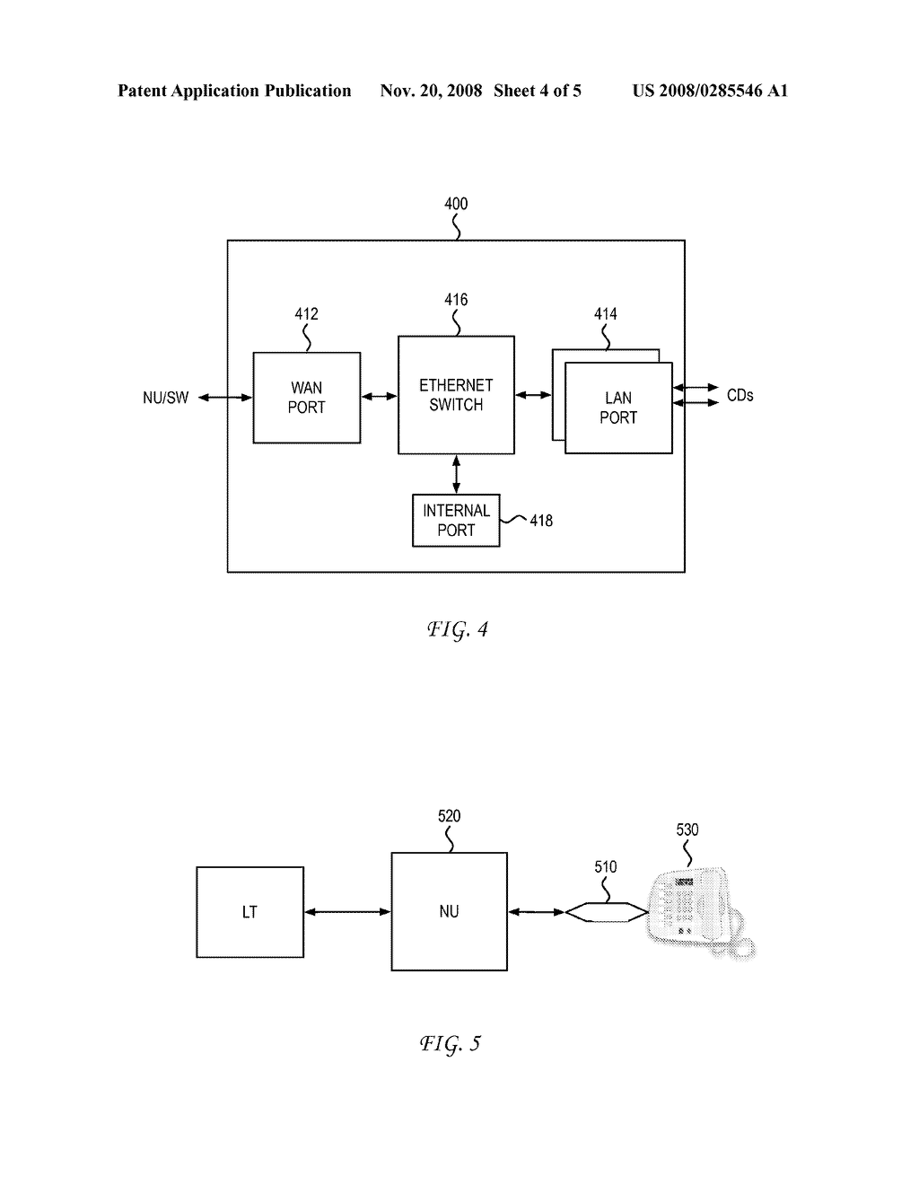 SYSTEM AND METHOD FOR ENABLING OPERATION OF AN ETHERNET DEVICE OVER AN EXTENDED DISTANCE - diagram, schematic, and image 05