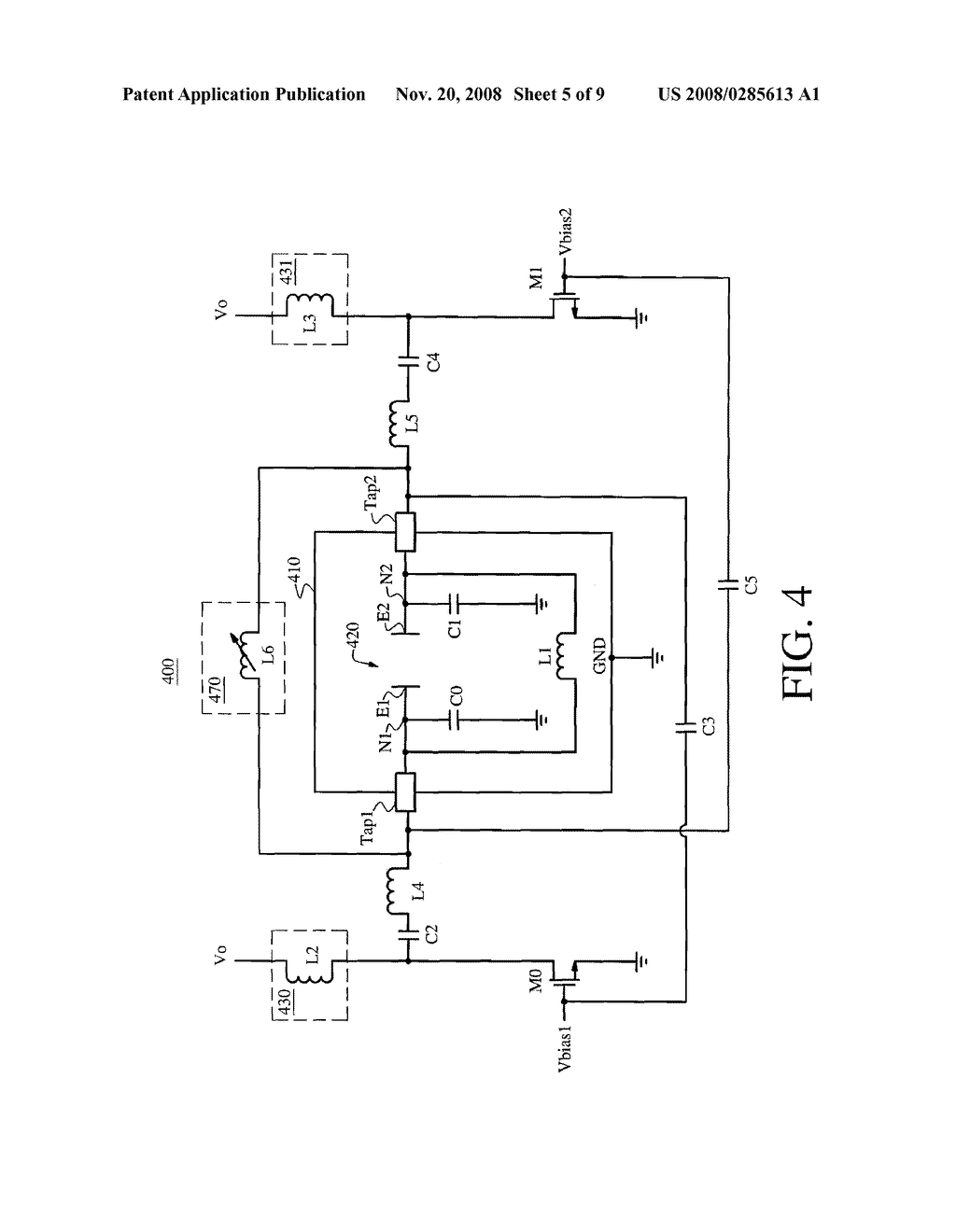COLPITTS RF POWER OSCILLATOR FOR A GAS DISCHARGE LASER - diagram, schematic, and image 06