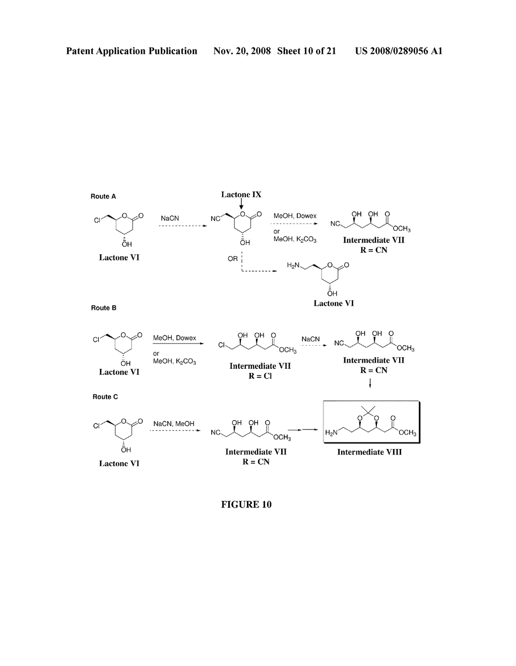 CHEMOENZYMATIC METHODS FOR THE SYNTHESIS OF STATINS AND STATIN INTERMEDIATES - diagram, schematic, and image 11