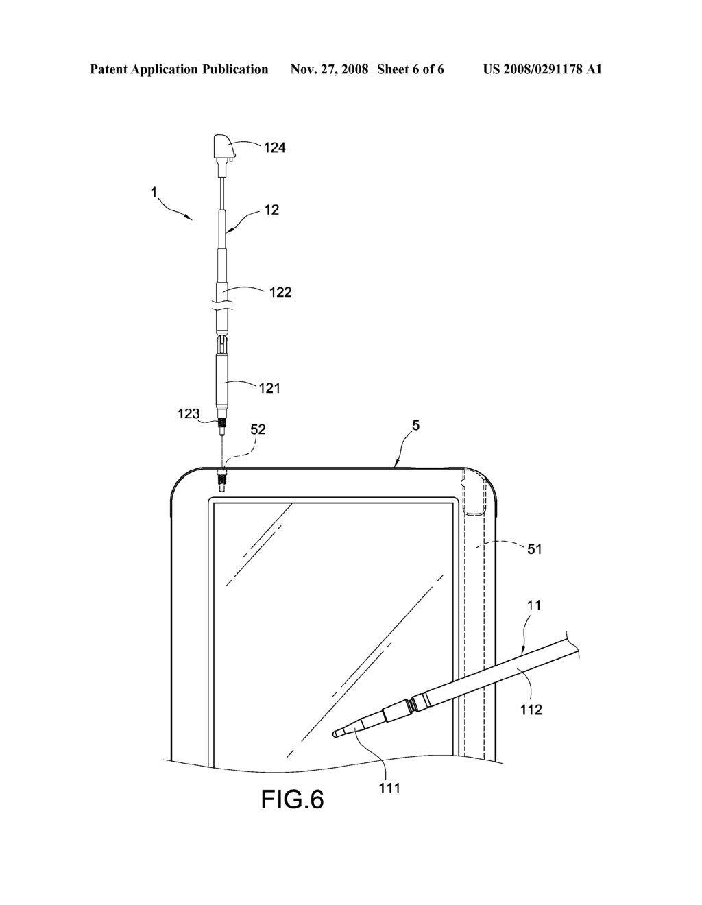 TOUCH PEN HAVING AN ANTENNA AND ELECTRONIC DEVICE HAVING THE TOUCH PEN - diagram, schematic, and image 07
