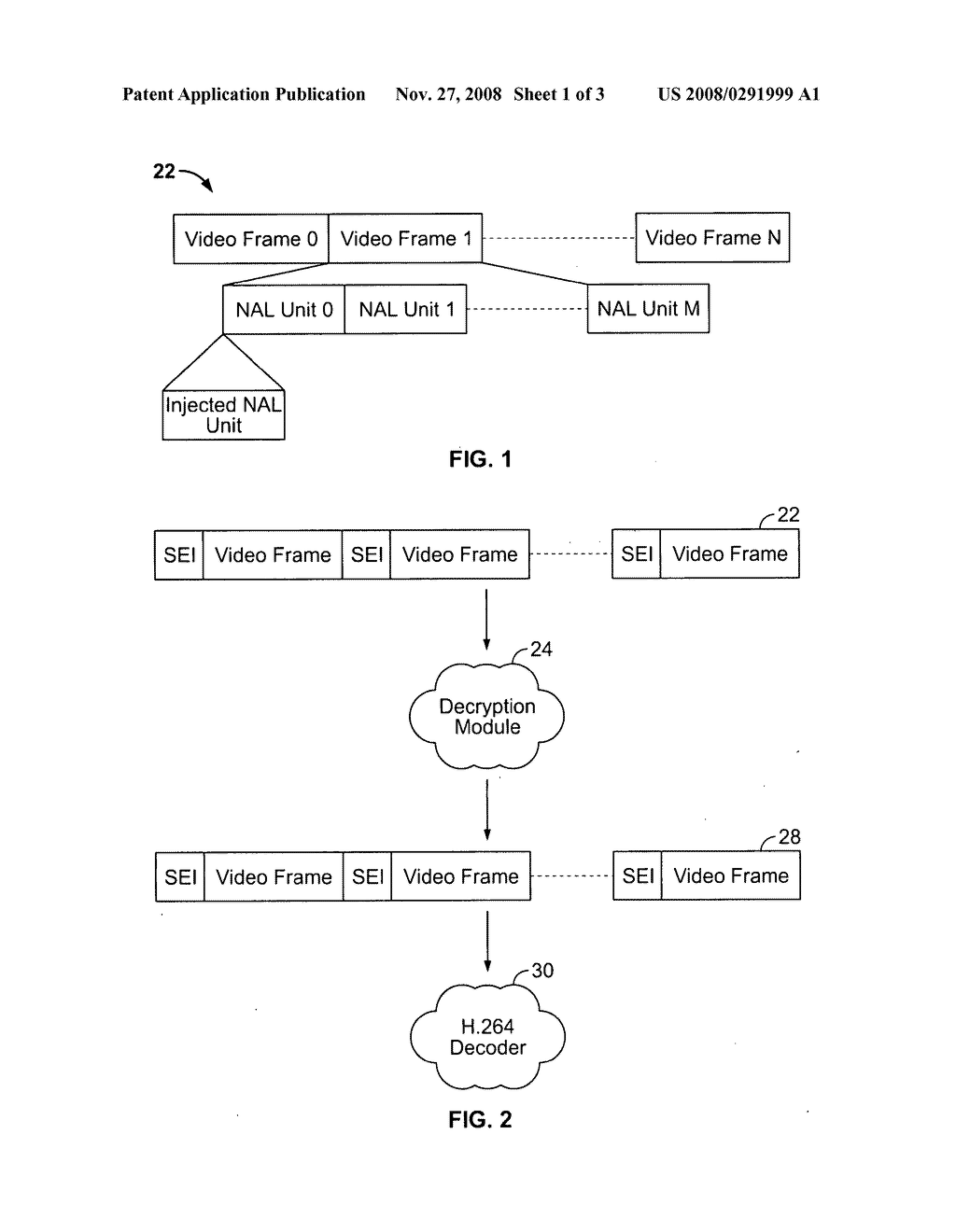 Method and apparatus for video frame marking - diagram, schematic, and image 02