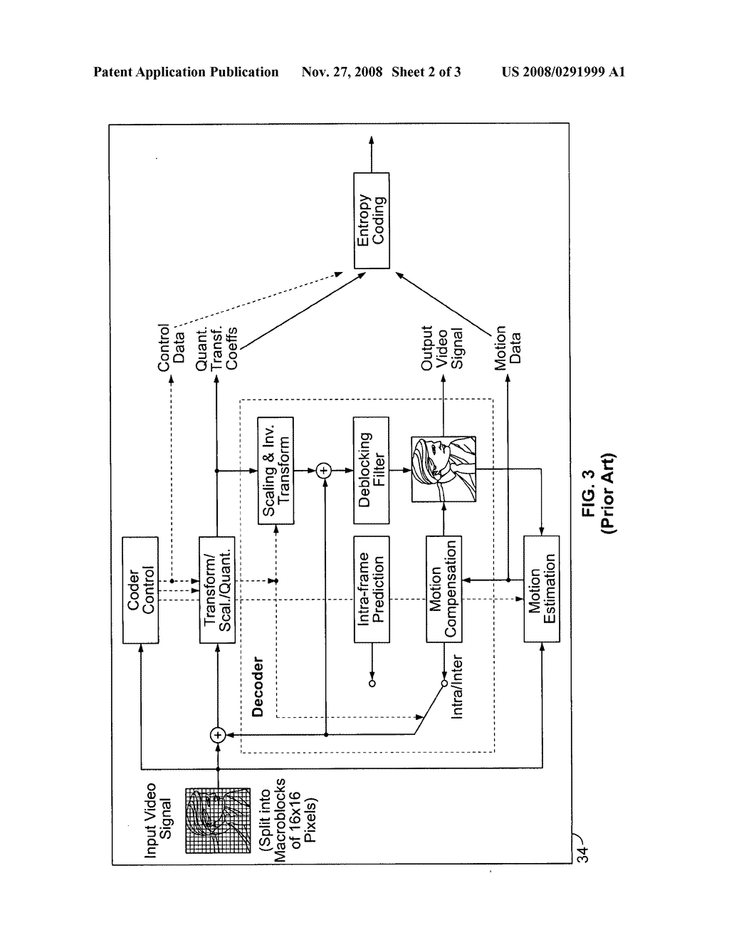 Method and apparatus for video frame marking - diagram, schematic, and image 03