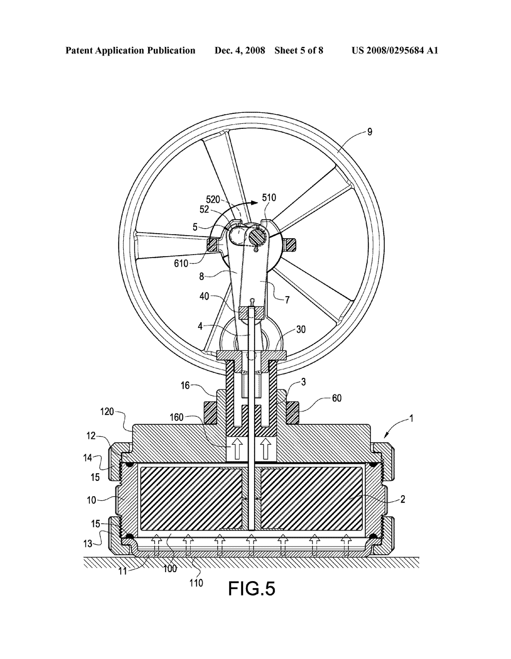 Double Power Stirling Engine And Coaxial Mechanism Schematic Diagram Image 06