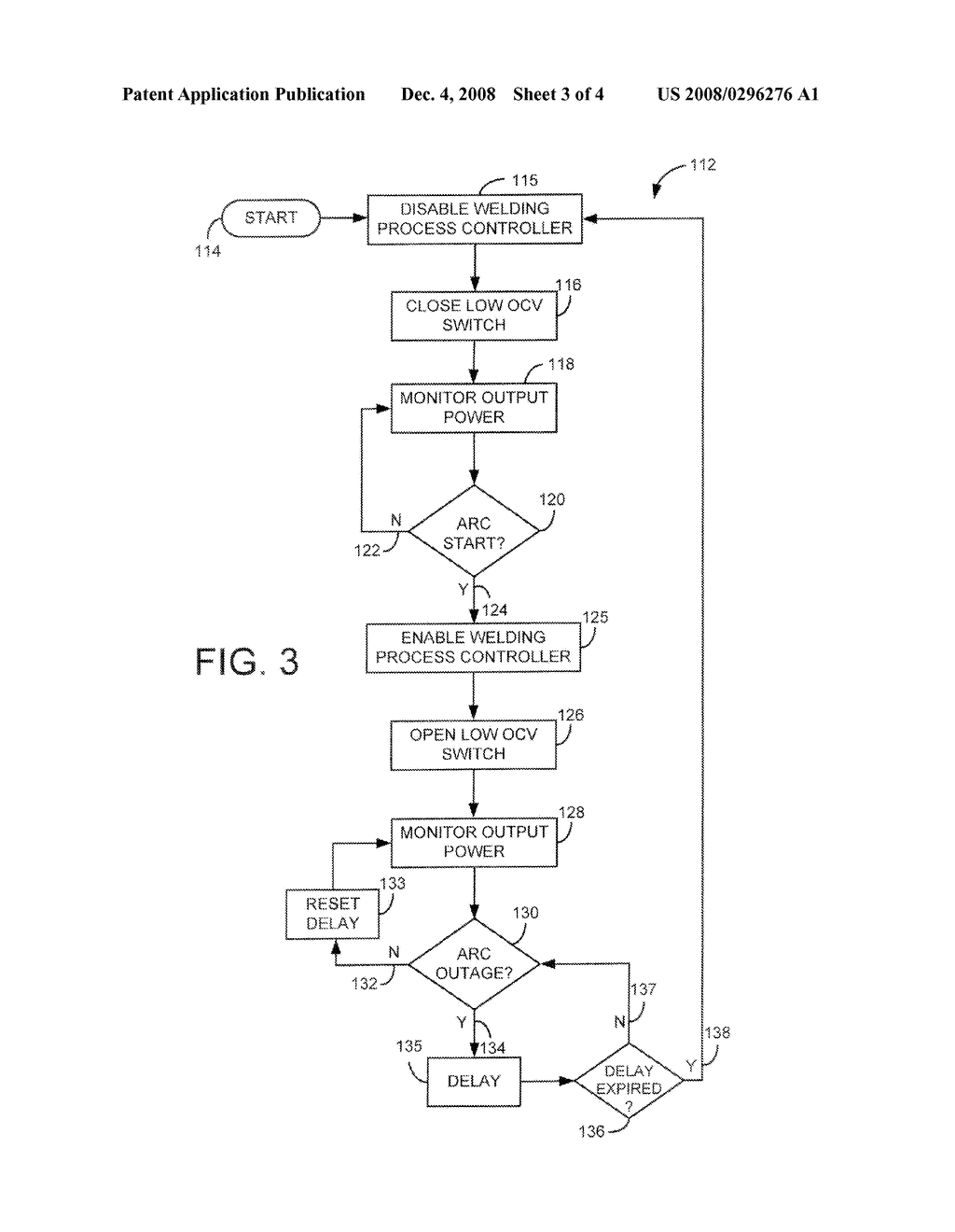 Welding-Type Power Source with Integrated Open-Circuit Voltage Controller -  diagram, schematic, and image 04