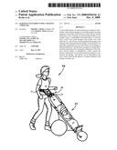 Harness attachment for a jogging stroller diagram and image