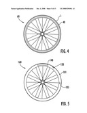 RIM FOR A BICYCLE WHEEL MADE FROM COMPOSITE MATERIAL WITH A WEAR INDICATOR AND WHEEL COMPRISING SUCH A RIM diagram and image