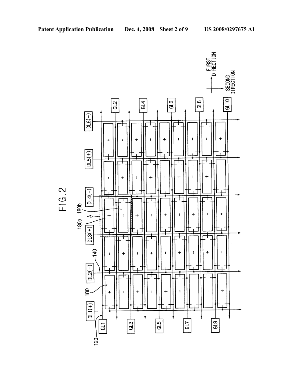 Array Substrate, Display Panel Having the Same and Method of Manufacturing the Same - diagram, schematic, and image 03