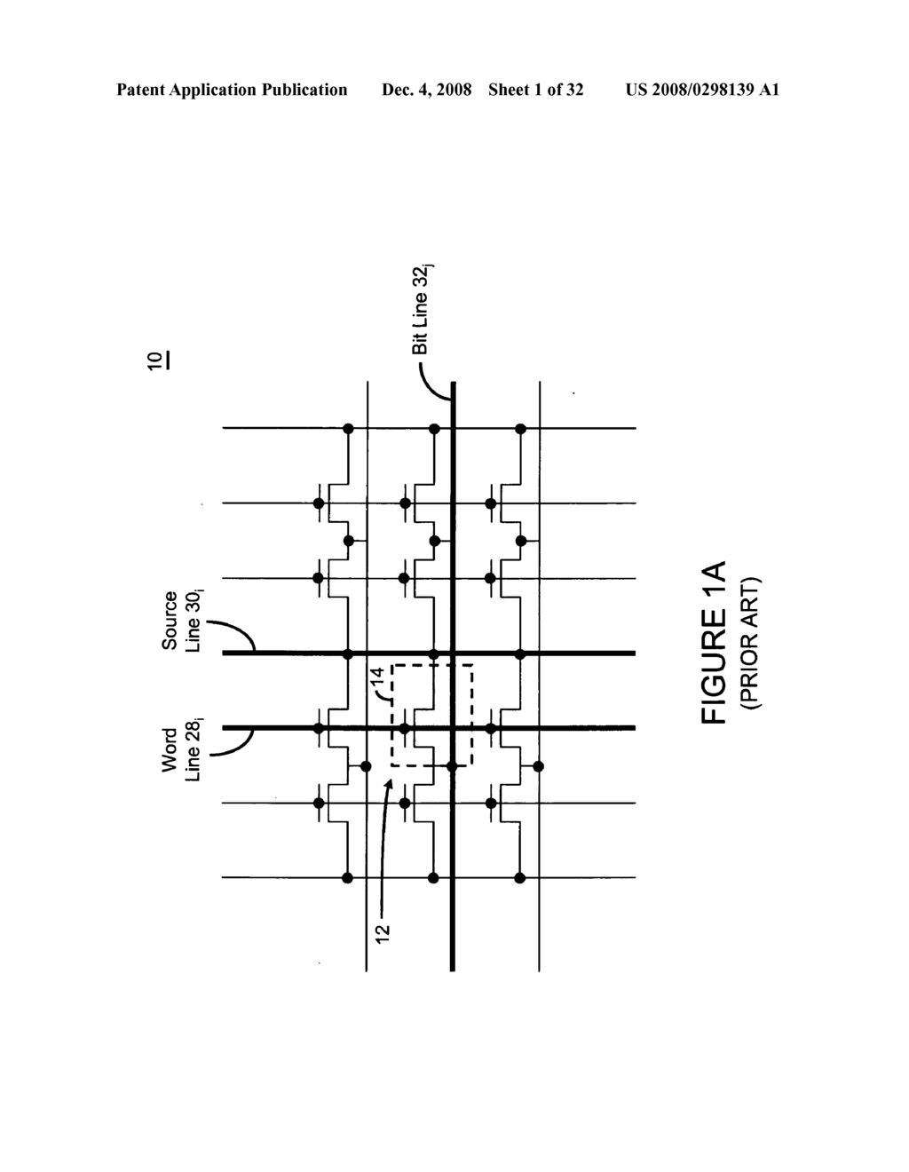 Integrated circuit having voltage generation circuitry for memory cell array, and method of operating and /or controlling same - diagram, schematic, and image 02