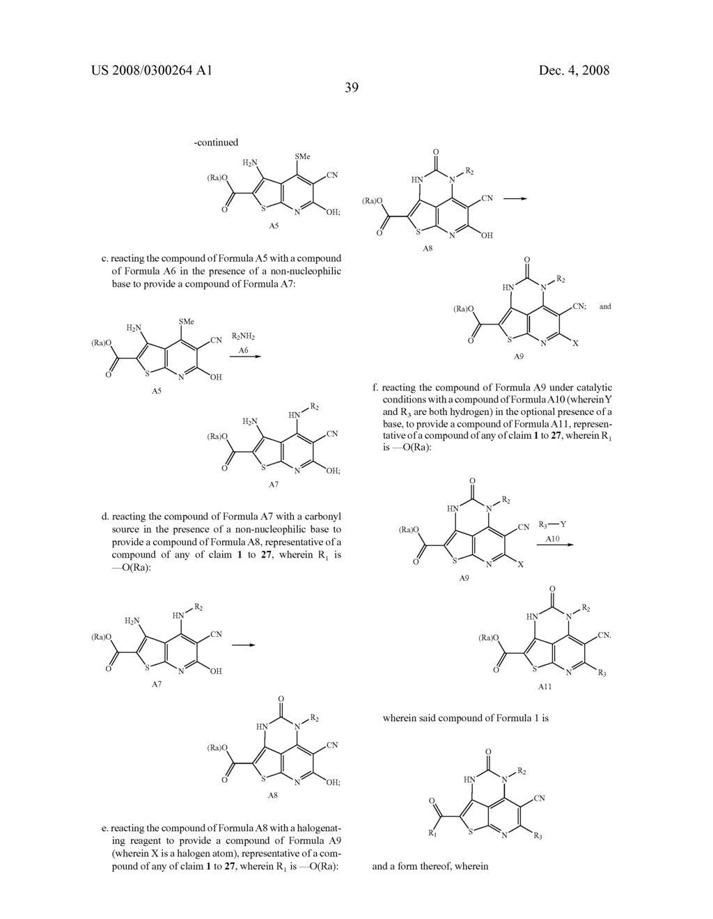 SUBSTITUTED THIATRIAZAACENAPHTHYLENE-6-CARBONITRILE KINASE INHIBITORS - diagram, schematic, and image 40