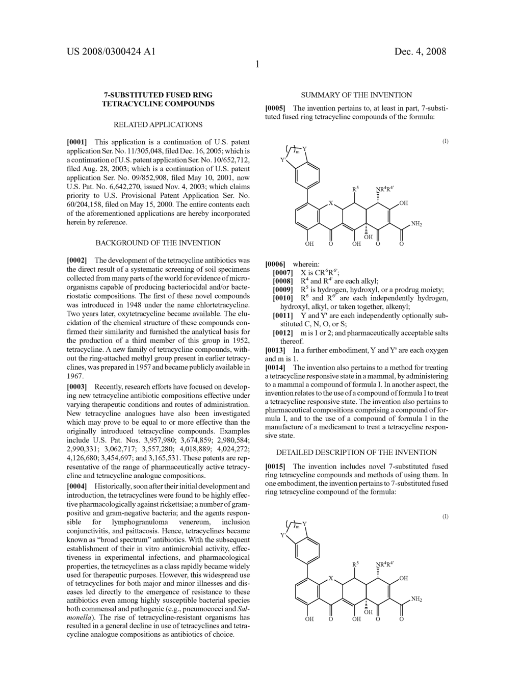7-substituted fused ring tetracycline compounds - diagram, schematic, and image 02