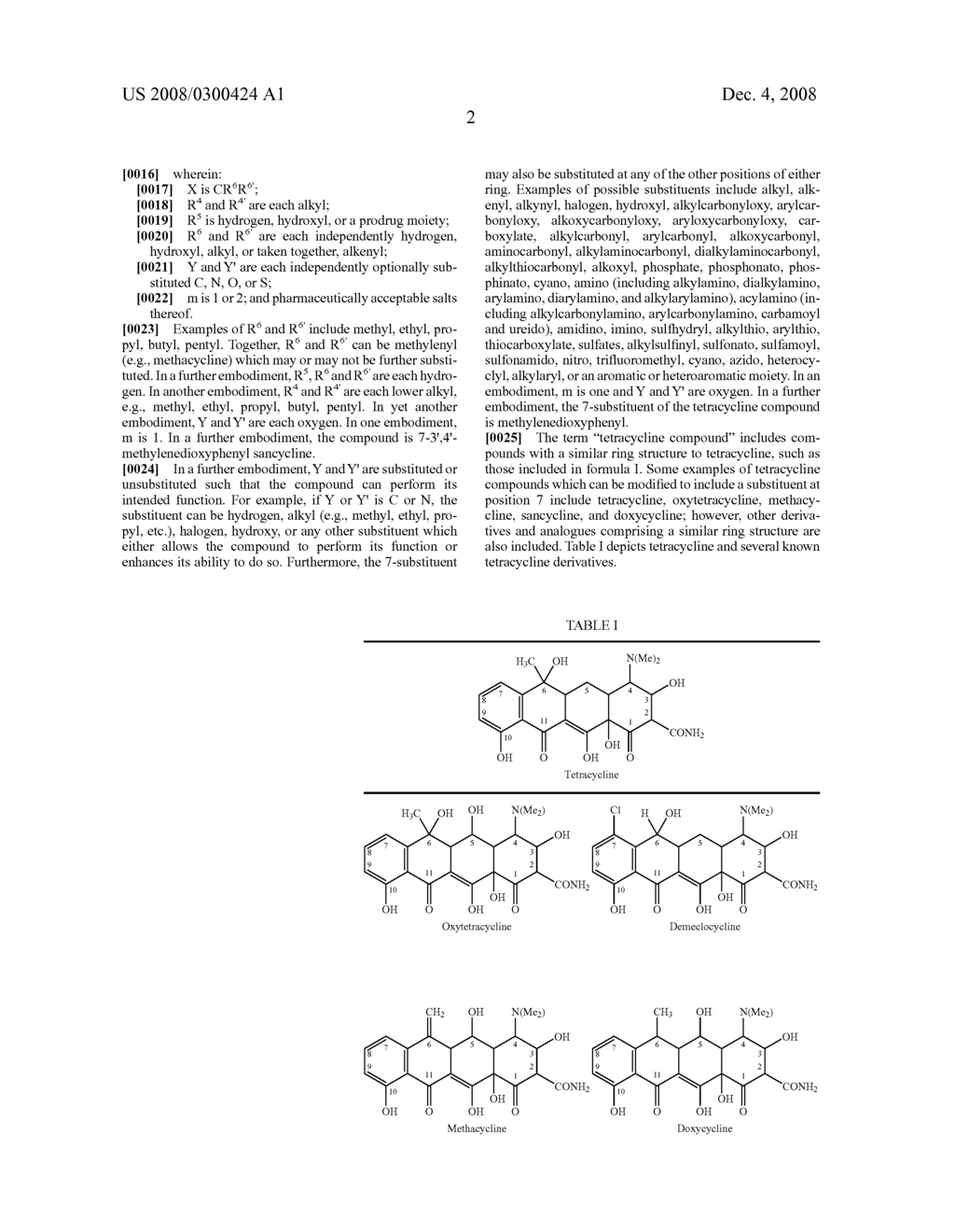 7-substituted fused ring tetracycline compounds - diagram, schematic, and image 03