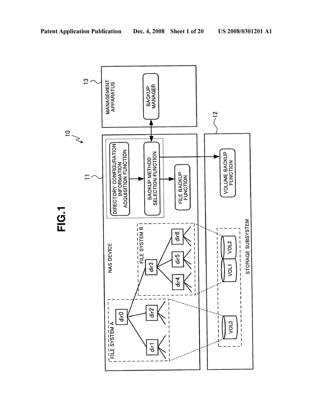 Storage System and Method of Managing Data Using Same - diagram, schematic, and image 02