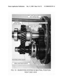 Reverse shift jump out of gear fix for model T45, 5 speed manual automotive transmission diagram and image