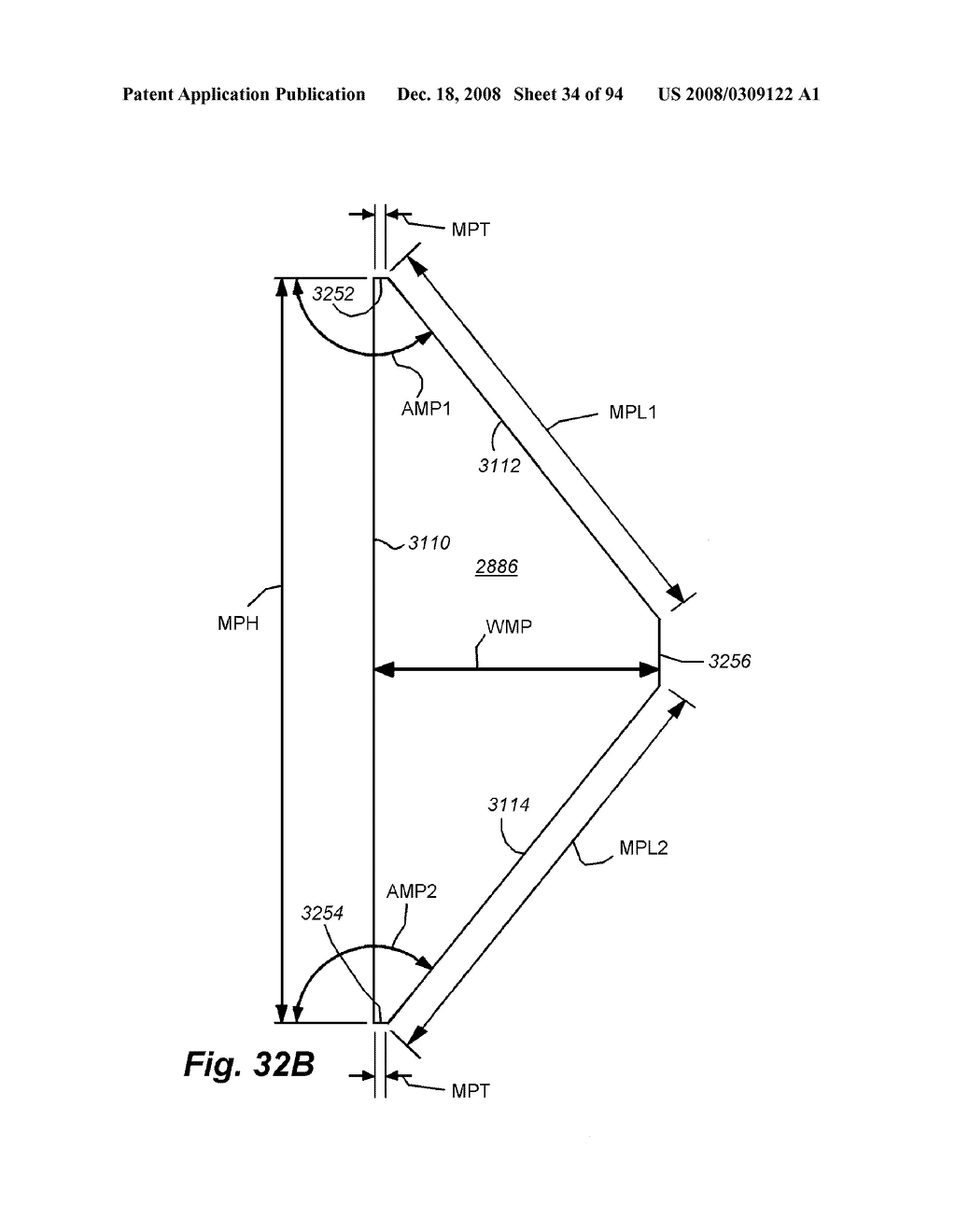 REAR-MOUNTED AERODYNAMIC STRUCTURE FOR TRUCK CARGO BODIES - diagram, schematic, and image 35