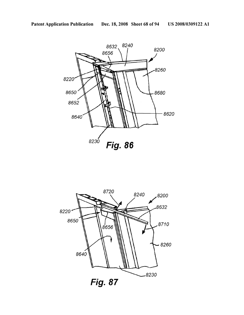 REAR-MOUNTED AERODYNAMIC STRUCTURE FOR TRUCK CARGO BODIES - diagram, schematic, and image 69