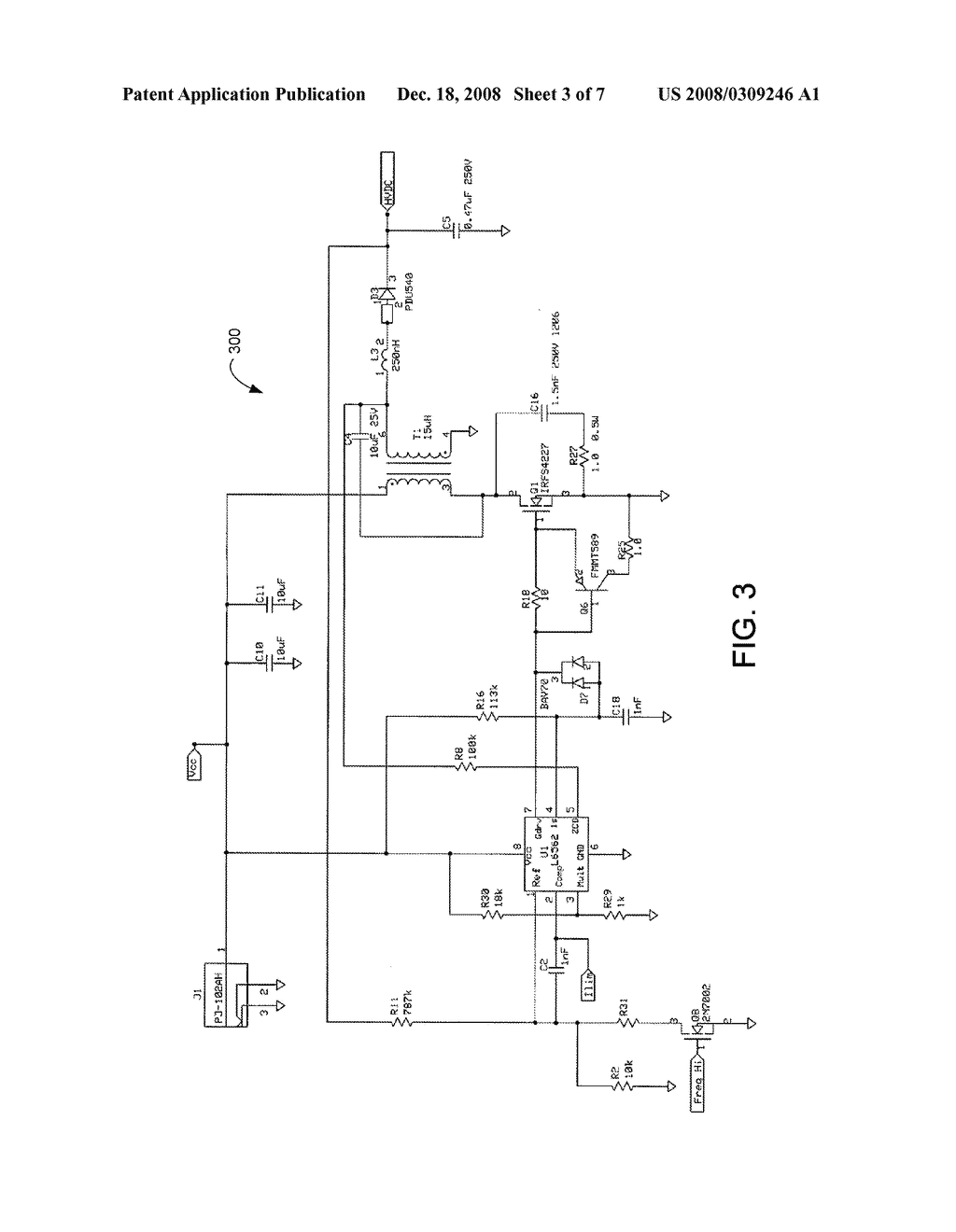 Projector Device Employing Ballast With Flyback Converter Diagram Schematic And Image 04