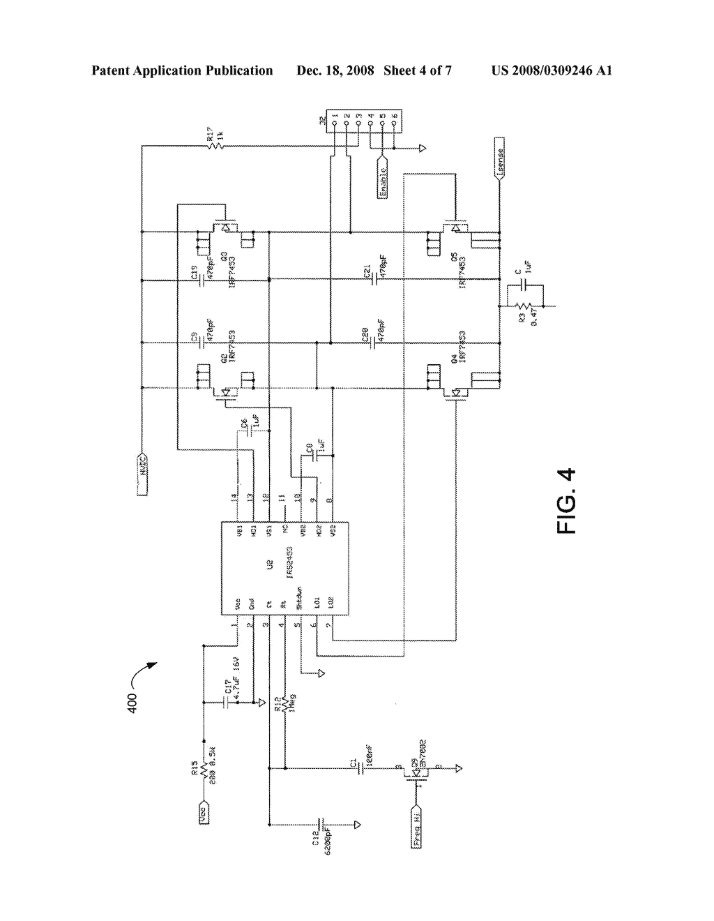 Projector Device Employing Ballast With Flyback Converter Diagram Schematic And Image 05