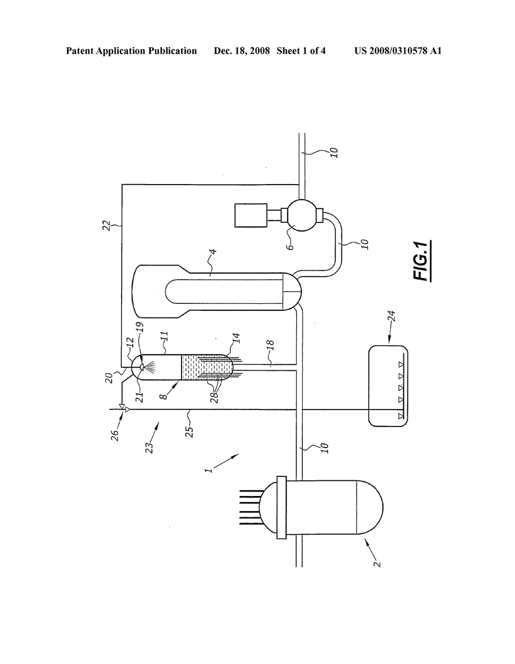 Pressurizer heater for the primary cooling system of a pressurized pressurizer heater for the primary cooling system of a pressurized water nuclear reactor diagram schematic and image 02 ccuart Gallery