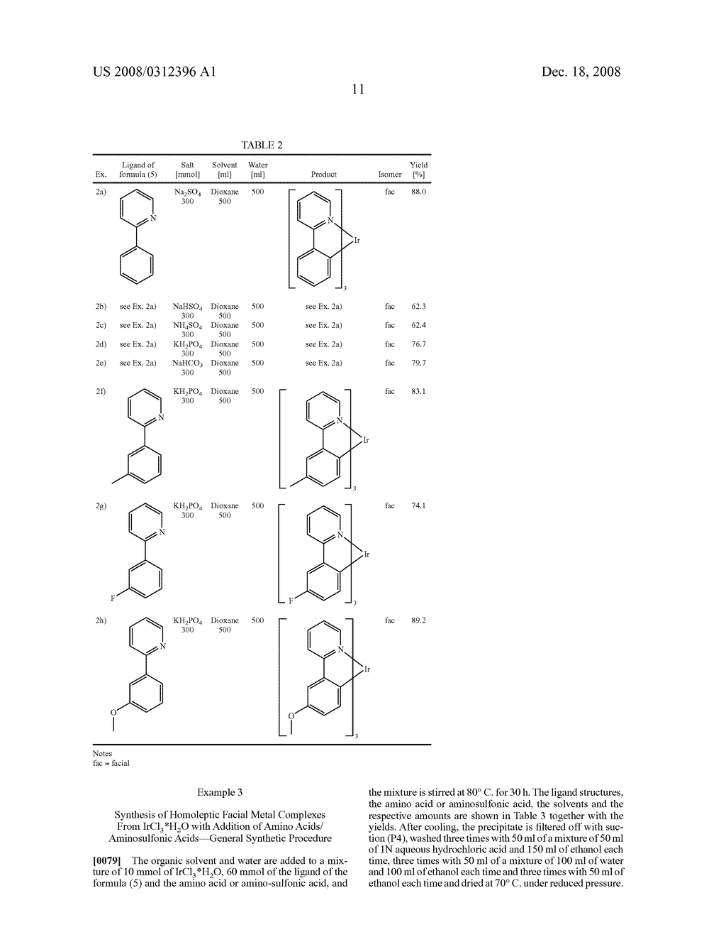 Process for Preparing Ortho-Metallated Metal Compounds - diagram, schematic, and image 12