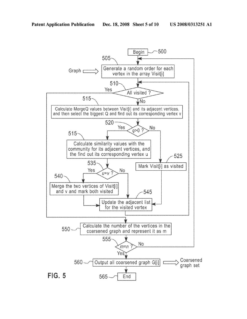SYSTEM AND METHOD FOR GRAPH COARSENING - diagram, schematic, and image 06