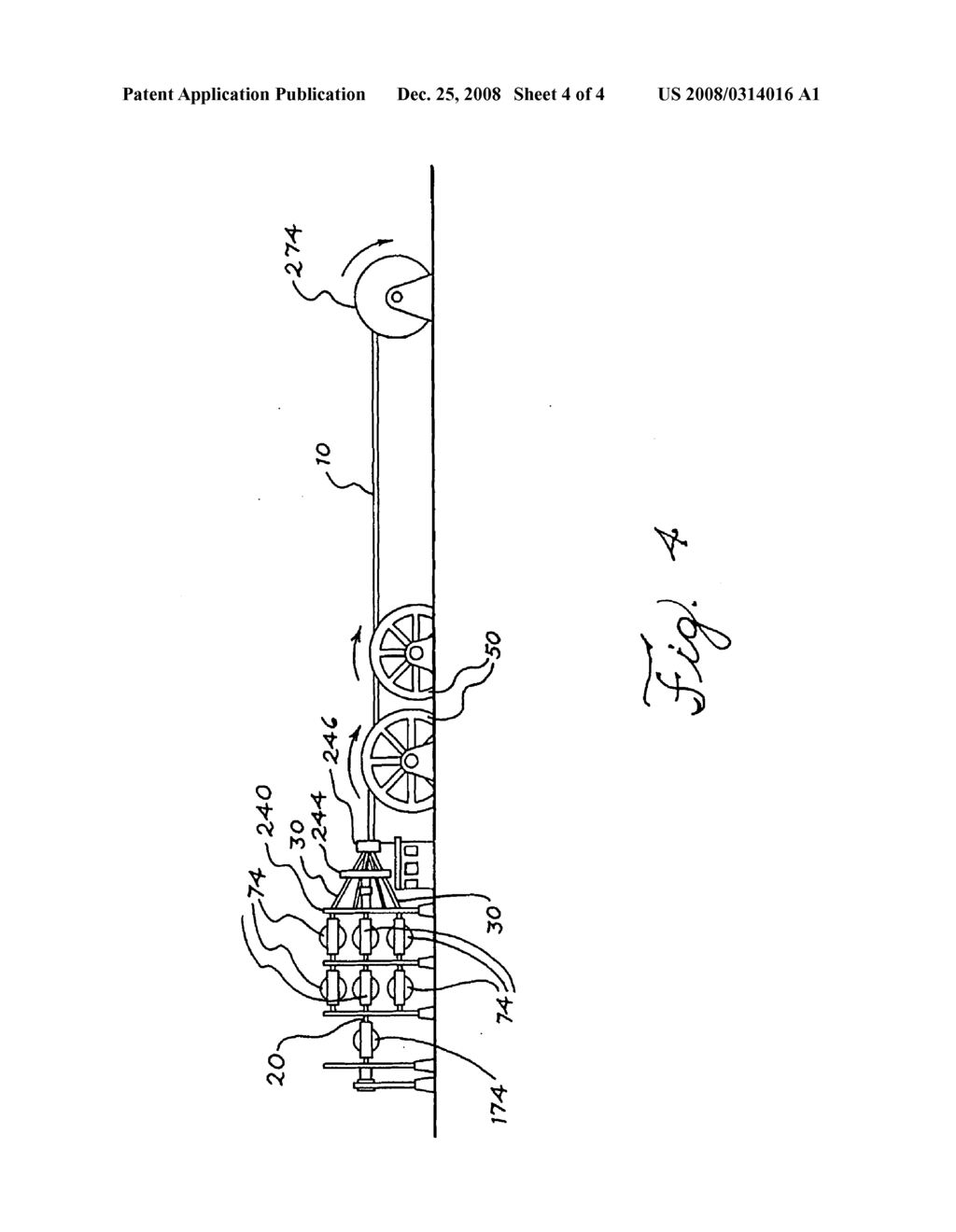 Wire rope for heavy duty hoisting and method for making same - diagram,  schematic, and image 05
