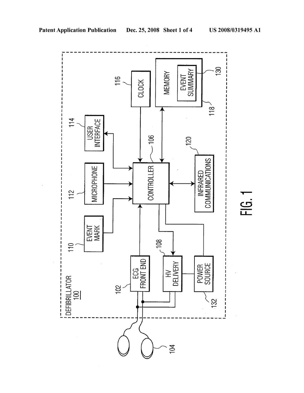 External Defibrillator Having A Ceramic Storage Capacitor And Energy Circuit Diagram Conditioning Schematic Image 02