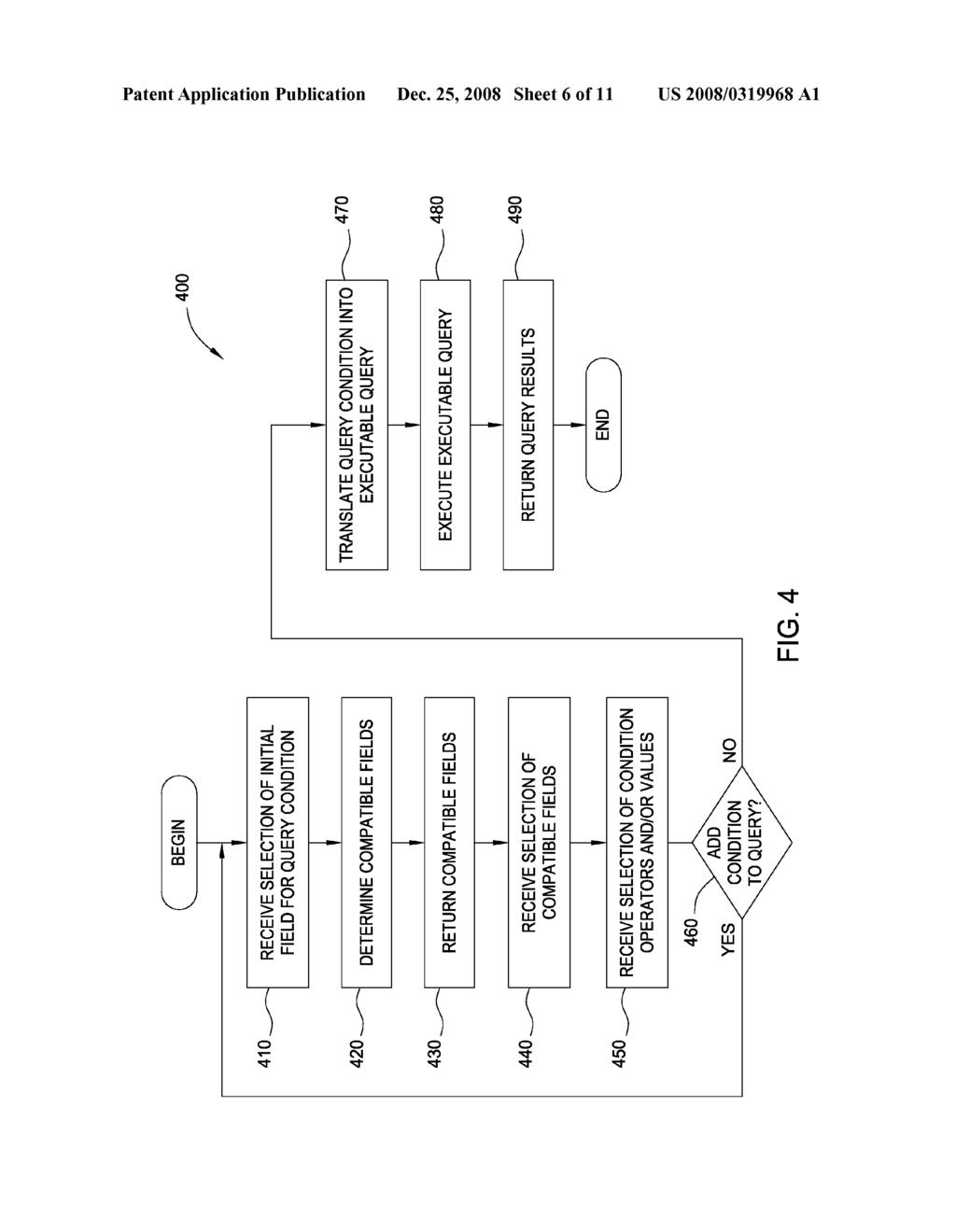 PROCESSING QUERY CONDITIONS HAVING FILTERED FIELDS WITHIN A DATA ABSTRACTION ENVIRONMENT - diagram, schematic, and image 07