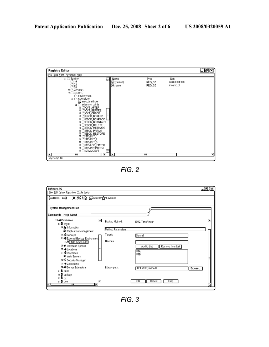 Database System and Method for External Backup - diagram, schematic, and image 03