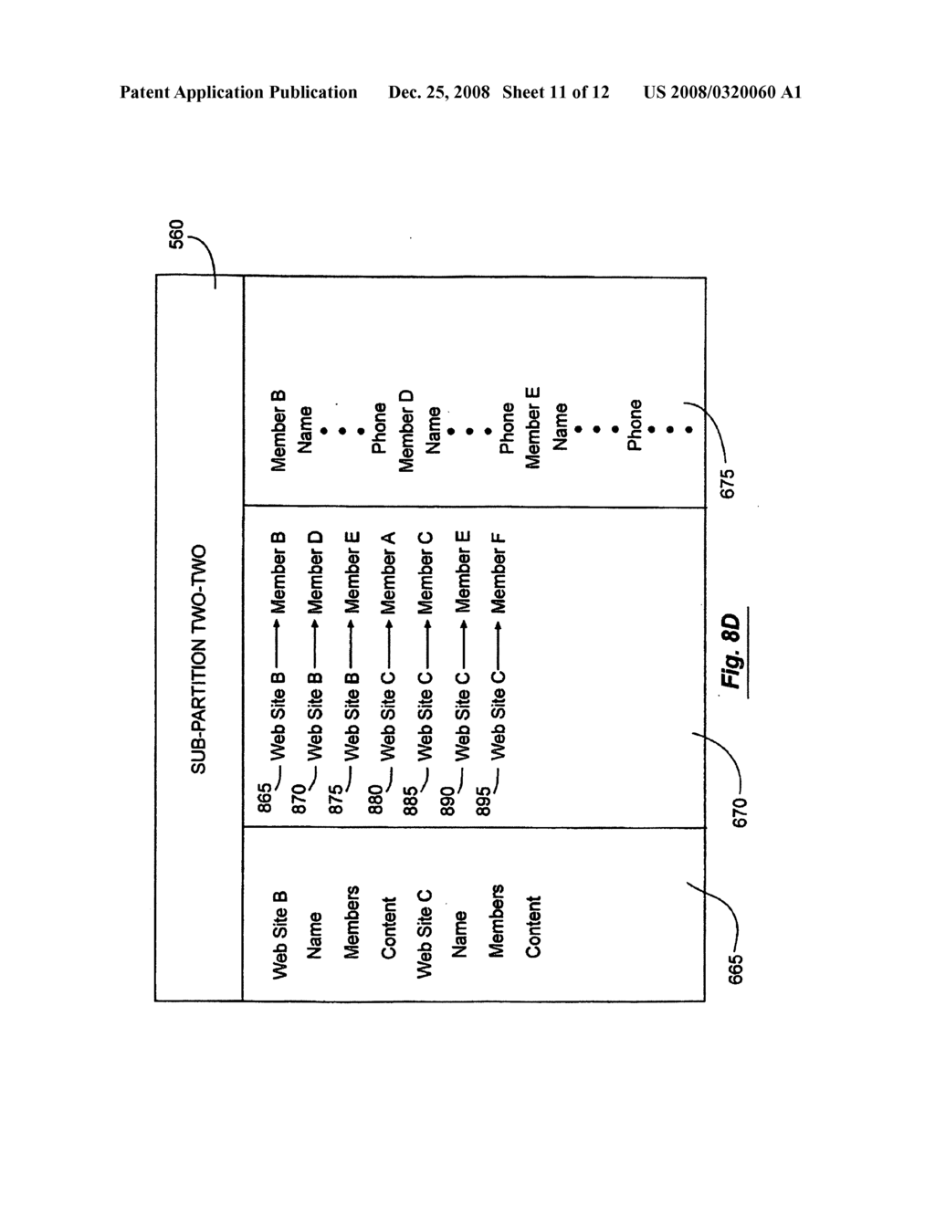 Systems And Methods For Partitioning Data On Multiple Servers - diagram, schematic, and image 12